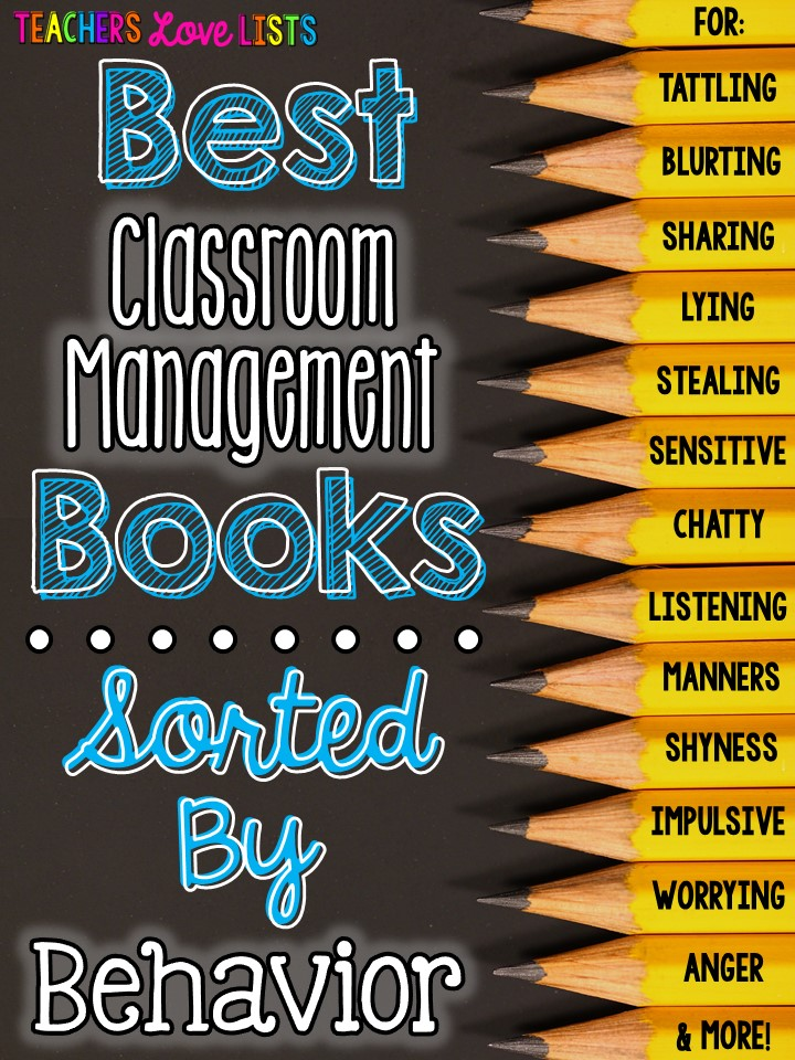 Best Classroom Management Books by Behavior