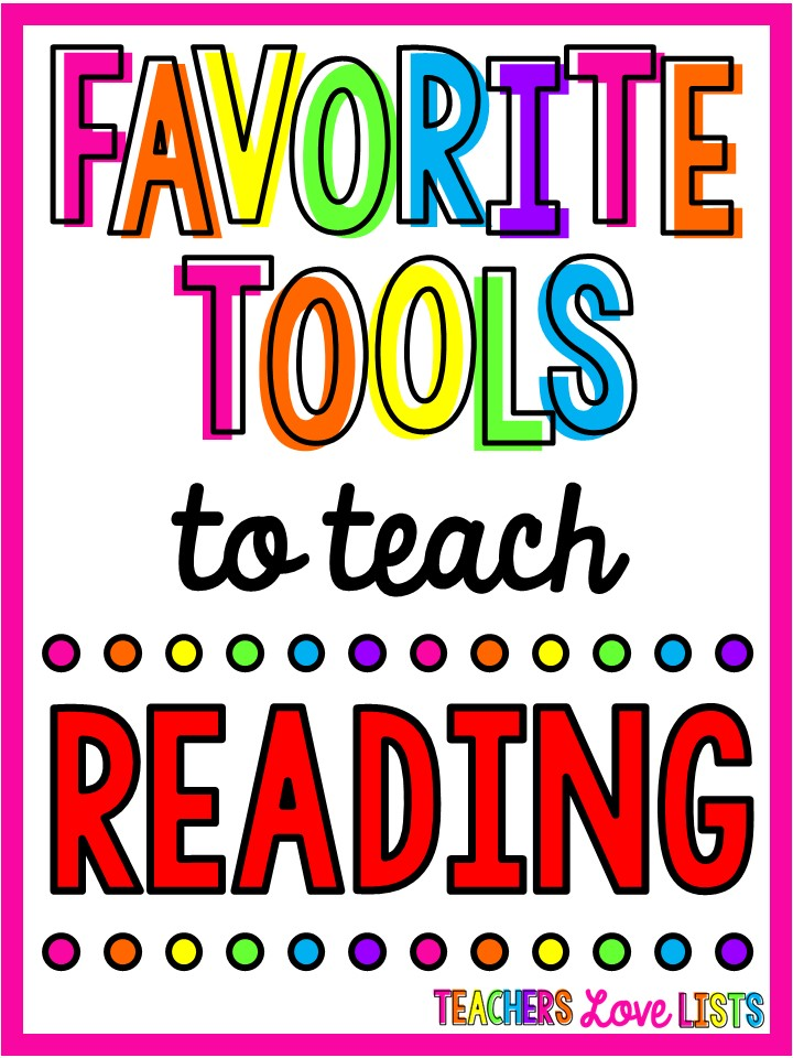 Favorite tools to help teach reading that make learning how to read fun