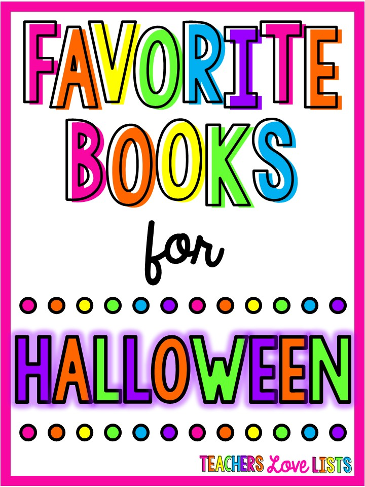 Best Halloween Books for October read alouds perfect for kindergarten and first grade - giant list of over 30 favorite Halloween books for kids!