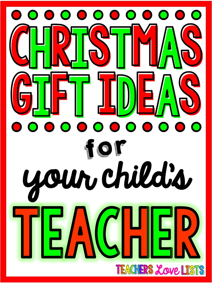 Christmas gifts for teachers that they actually want! Great list of what to get your child's teacher for the holidays!